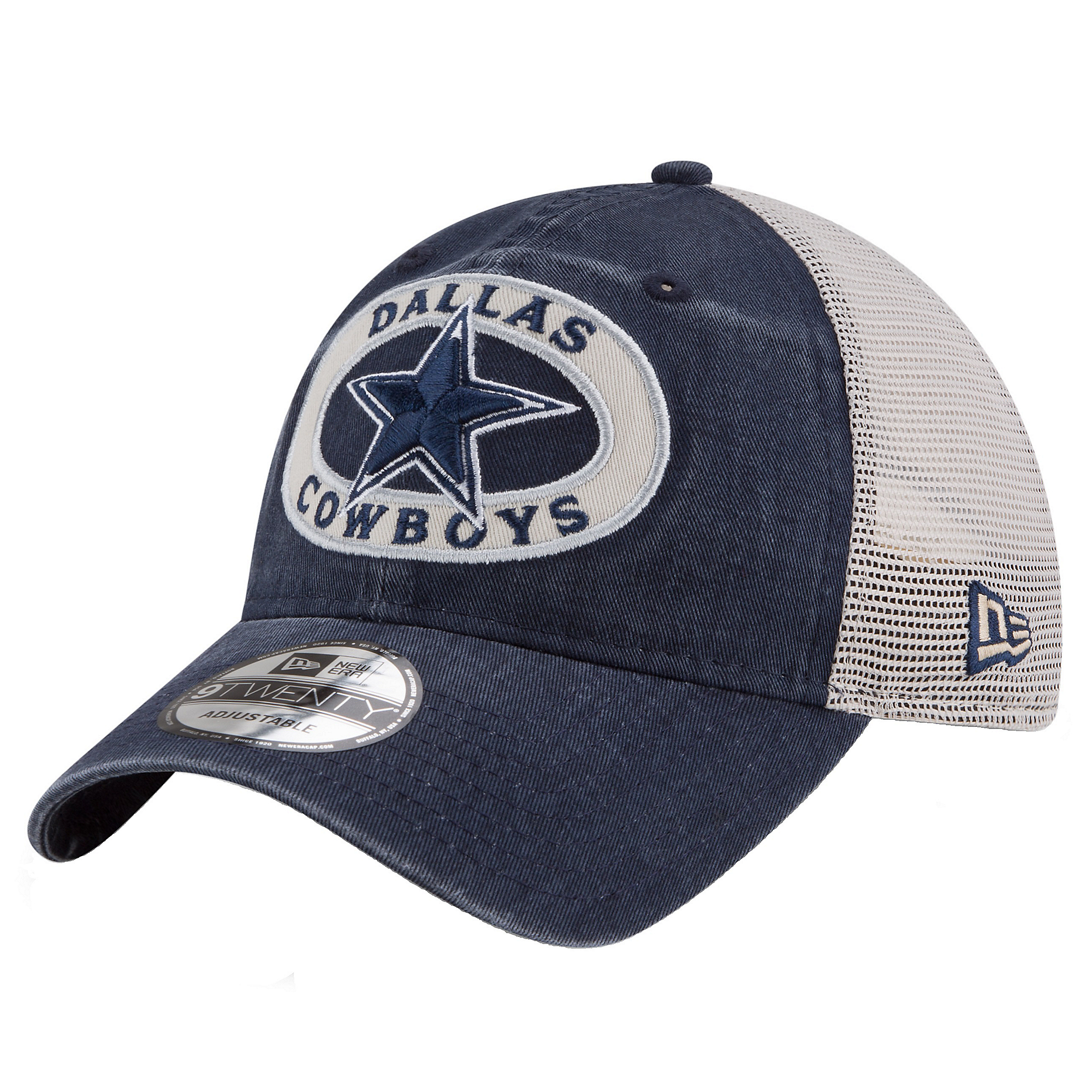 718e68ef8d328 Dallas Cowboys New Era Patched Pride Trucker 9Twenty Cap