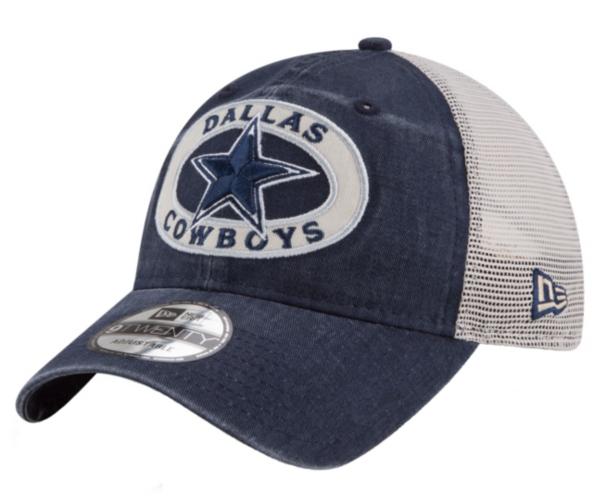 Dallas Cowboys New Era Patched Pride Trucker 9Twenty Cap