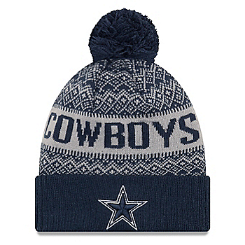Dallas Cowboys New Era Wintry 3 Knit Hat