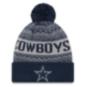Dallas Cowboys New Era Wintry 3 Knit Hat