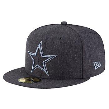 Dallas Cowboys New Era Mens Twisted Frame 59Fifty Hat