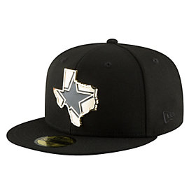 Dallas Cowboys New Era Gold Stated 59Fifty Cap