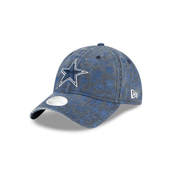 Dallas Cowboys New Era Womens Floral Peak 9Twenty Hat