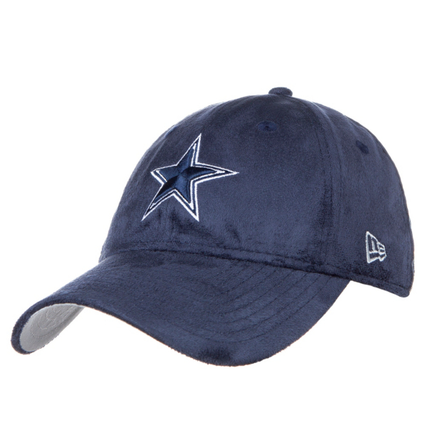 Dallas Cowboys New Era Sassy Suede 9Twenty Cap