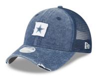 Dallas Cowboys New Era Womens Team Squared Trucker 9Twenty Cap