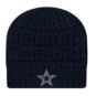 Dallas Cowboys New Era Comfy Cheer Knit Hat