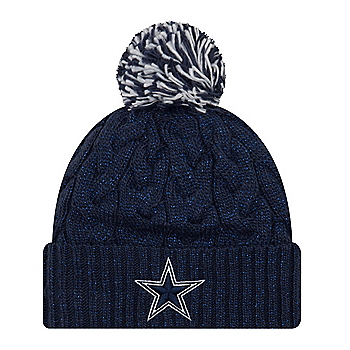 Dallas Cowboys New Era Cozy Cable Knit Hat