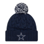 Dallas Cowboys New Era Cozy Cable Knit Hat