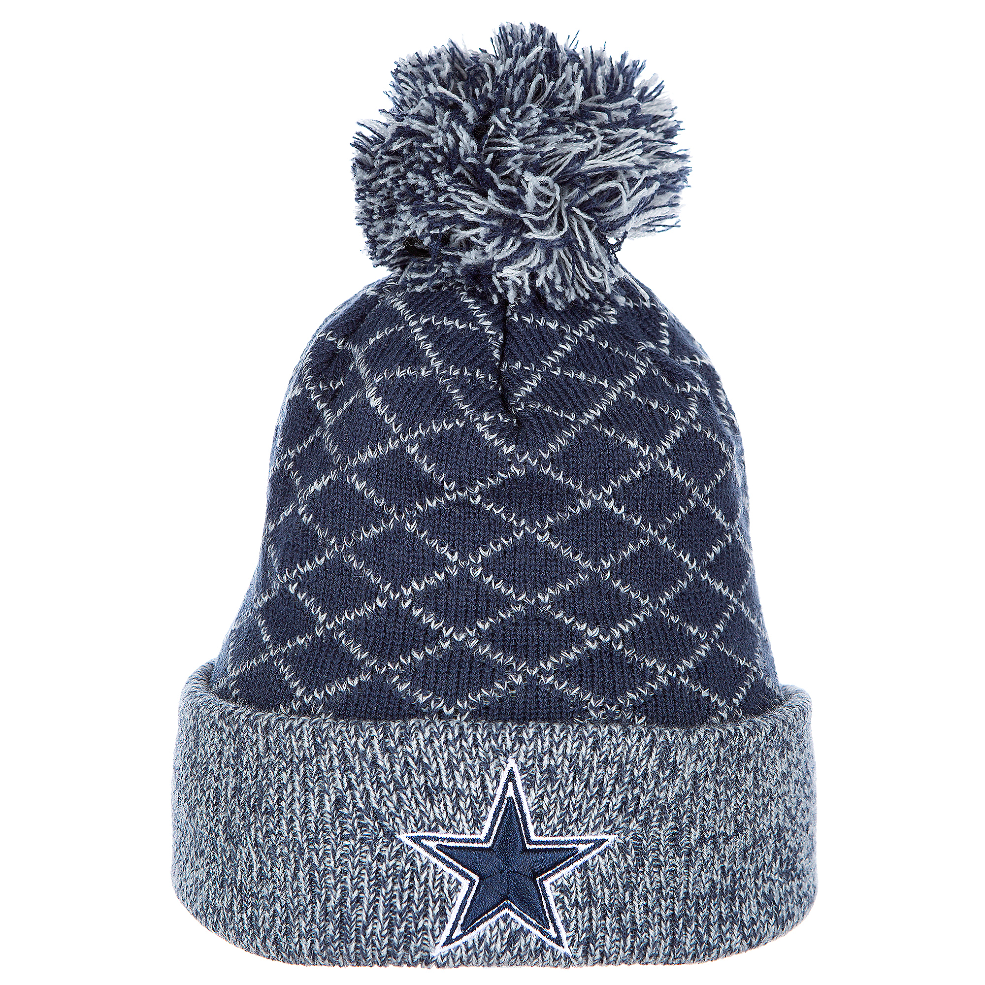 Dallas Cowboys New Era Criss Cross Knit Hat