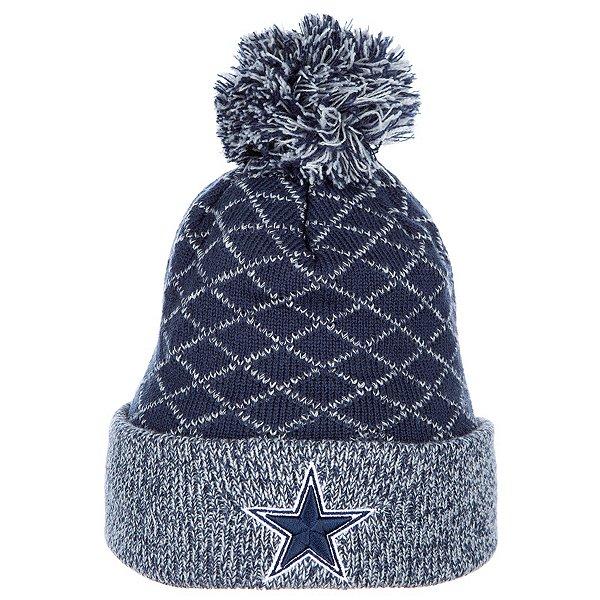 Dallas Cowboys New Era Criss Cross Knit Hat