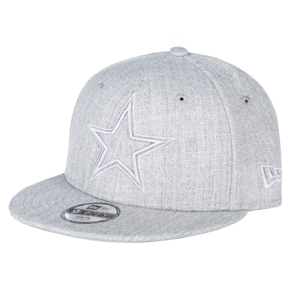 Dallas Cowboys New Era Youth Twisted Frame 9Fifty Cap