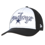 Dallas Cowboys New Era Scribbled Front 9Forty Cap