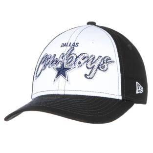 Dallas Cowboys New Era Scribbled Front 9Forty Cap