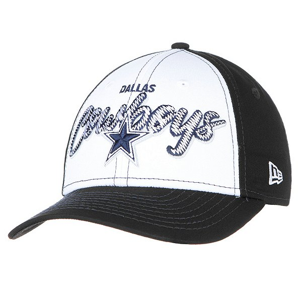 Dallas Cowboys New Era Girls Scribbled Front 9Forty Hat