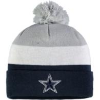 Dallas Cowboys New Era Jr Triblock Knit Hat