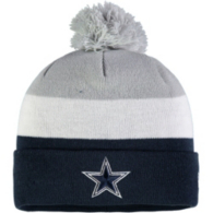 Dallas Cowboys New Era Jr Triblock Knit Hat