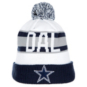 Dallas Cowboys New Era Jr Retro Cuff Knit Hat