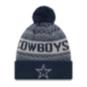 Dallas Cowboys New Era Jr Wintry 3 Knit Hat