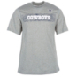 Dallas Cowboys Nike Youth Sideline Short Sleeve Tee