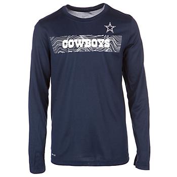 Dallas Cowboys Nike Youth Sideline Long Sleeve Tee c65cada72