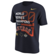 Houston Astros Nike Mens World Series Champs Short Sleeve Tee