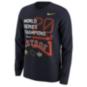 Houston Astros Nike Mens World Series Champs Long Sleeve Tee