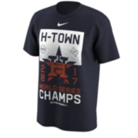 Houston Astros Nike Mens World Series Champs Local Tee