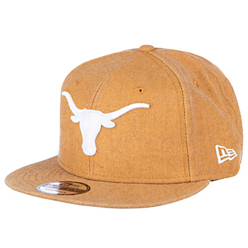 Texas Longhorns New Era Rugged Heather 9Fifty Cap