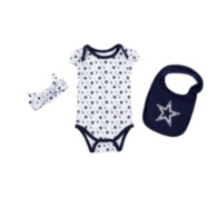 Dallas Cowboys Infant Bonnie Set
