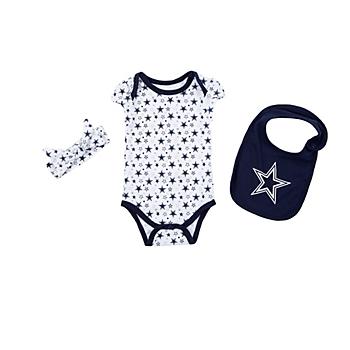 Dallas Cowboys Infant Bonnie Set ec545c8c3