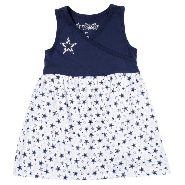 Dallas Cowboys Toddler Amelia Dress