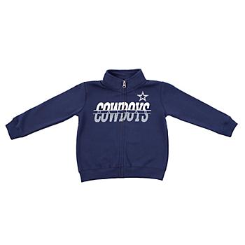 087f0ab09 Dallas Cowboys Toddler Gunner Full Zip Jacket