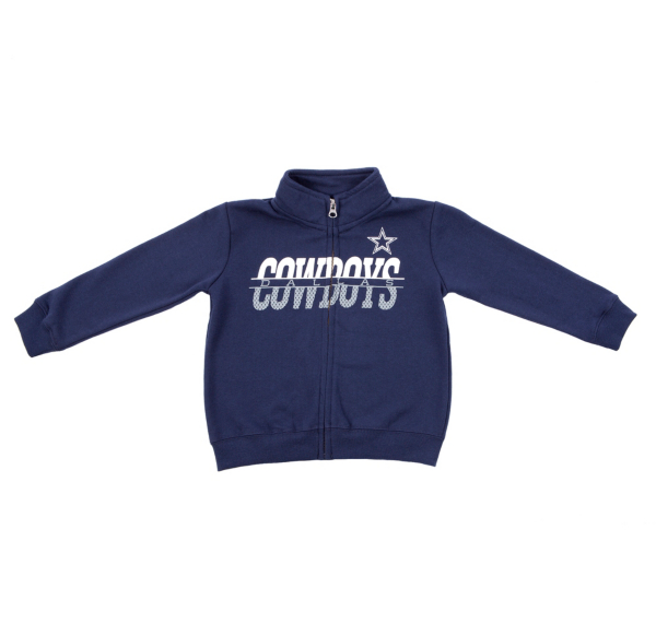 Dallas Cowboys Toddler Gunner Full Zip Jacket