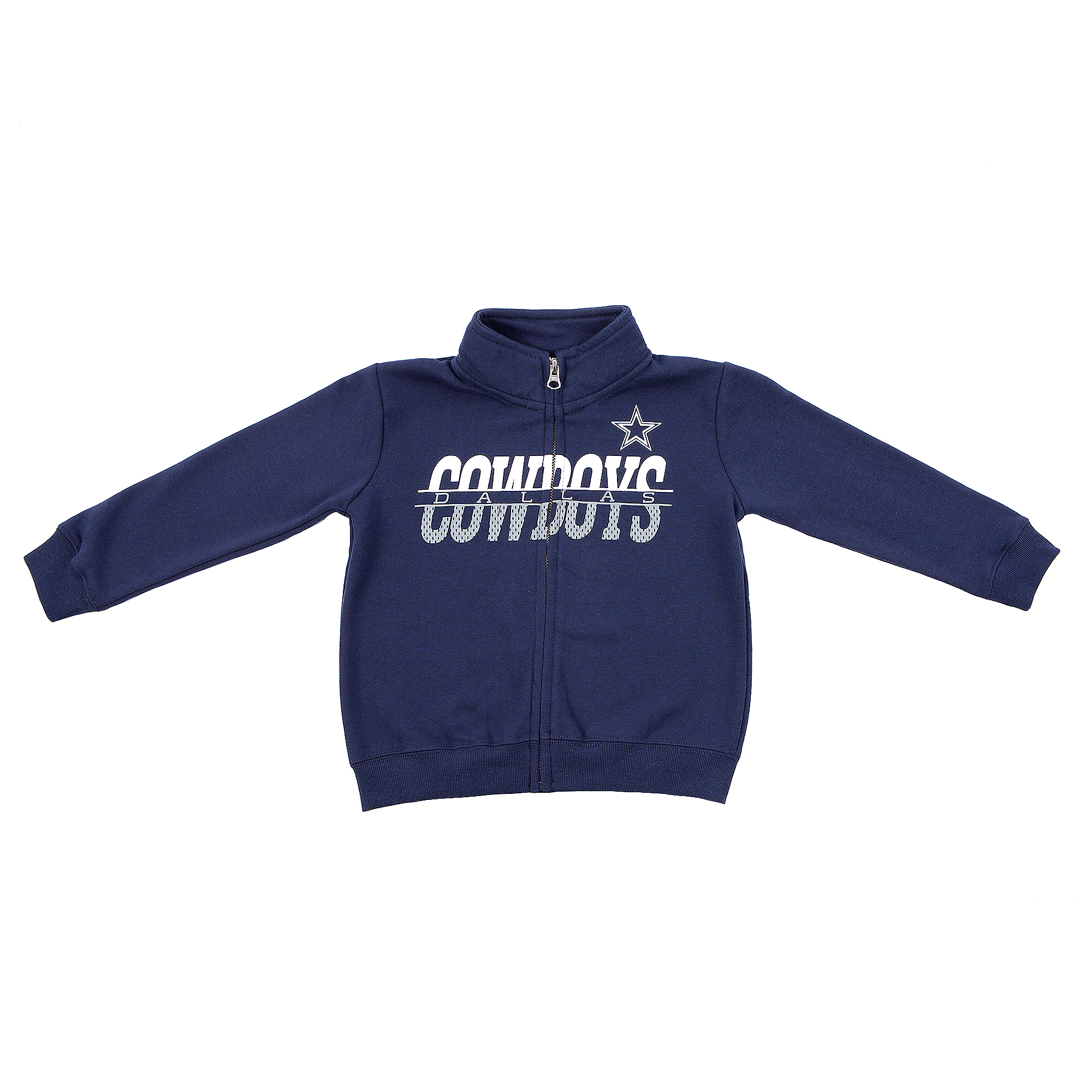 Dallas Cowboys Toddler Gunner Full Zip Jacket