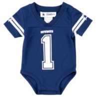 Dallas Cowboys Infant Navy Jersey Bodysuit