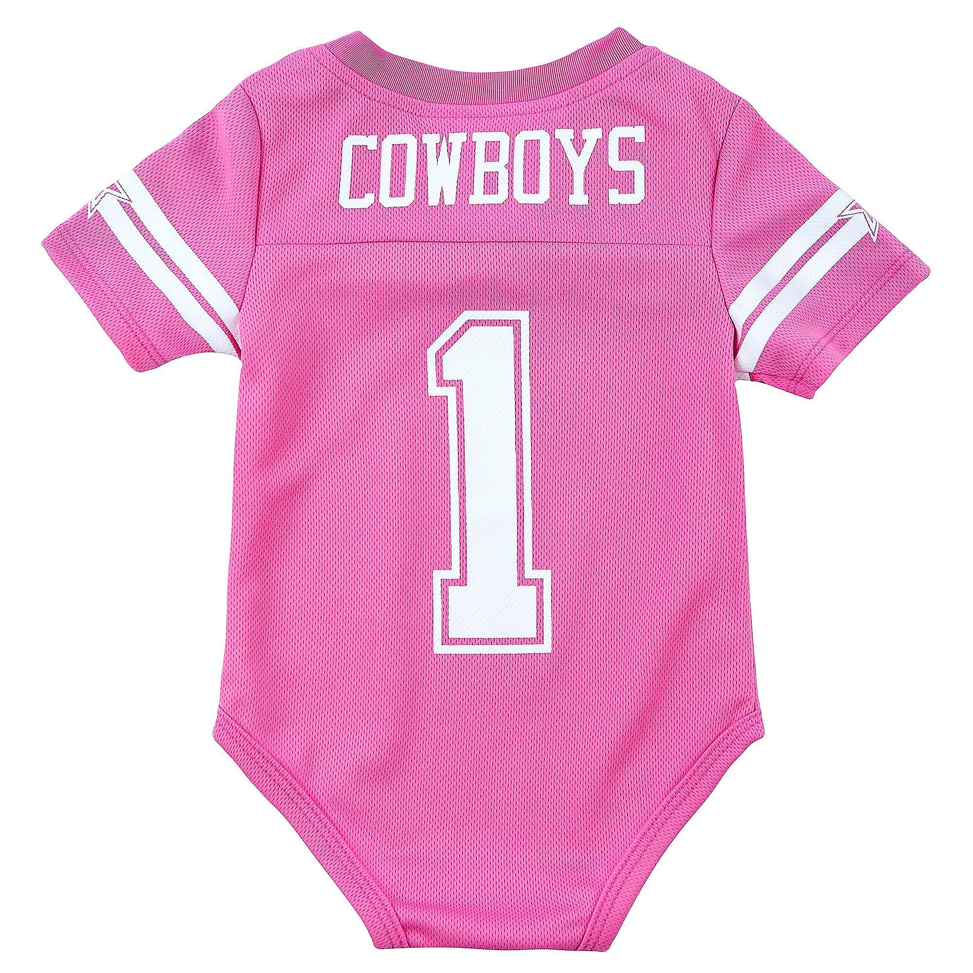 pink cowboys jersey