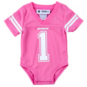 Dallas Cowboys Infant Pink Jersey Bodysuit