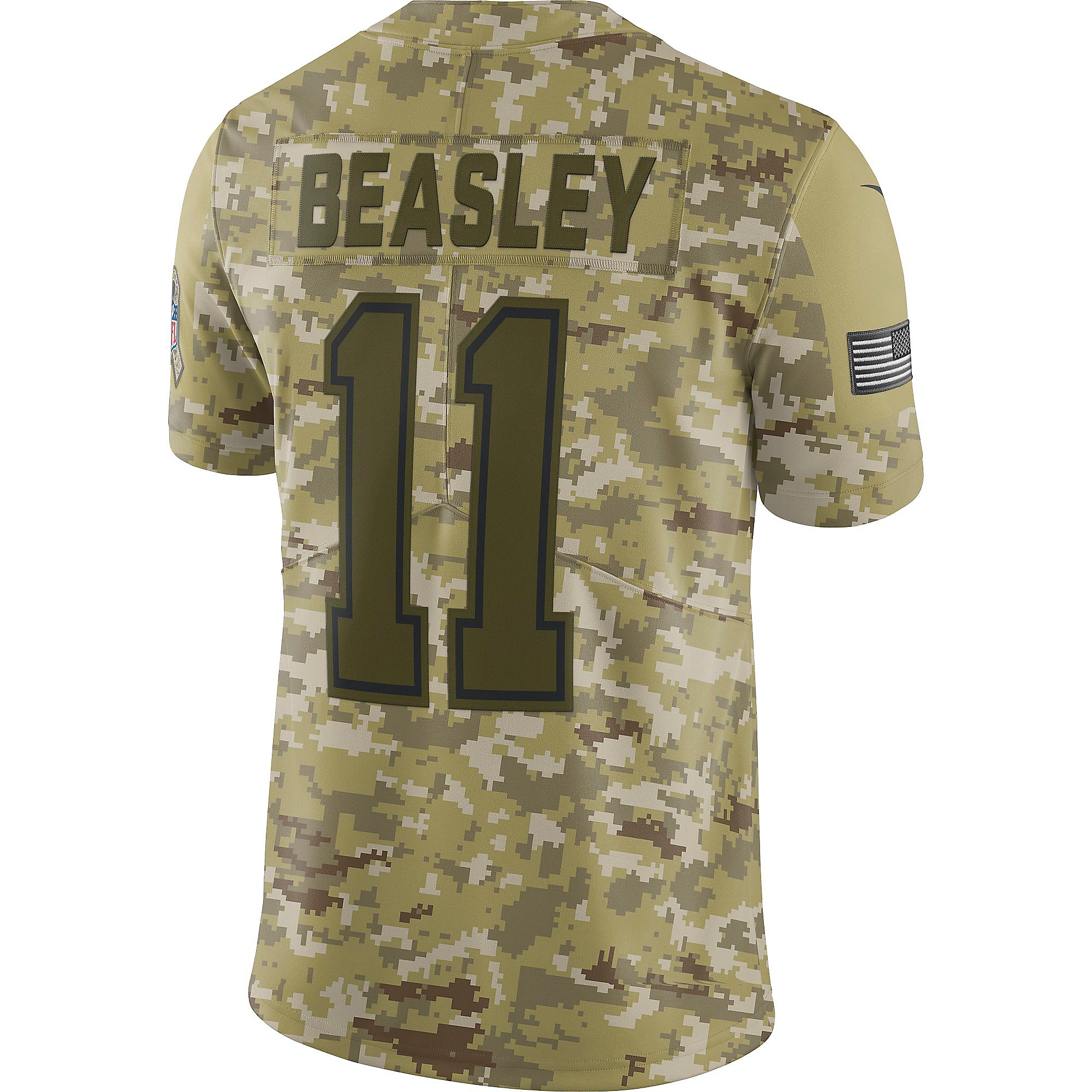 b11fbbe33 Dallas Cowboys Cole Beasley  11 Nike Limited Salute To Service Jersey