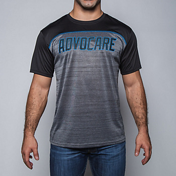 AdvoCare Ruger Colorblock Performance Tee