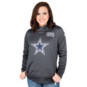 Dallas Cowboys Nike Womens Crucial Catch Therma Pullover Hoody