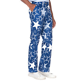 Dallas Cowboys Loudmouth Star Stretch Tech Pant