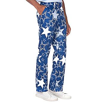 52ad00a0e Dallas Cowboys Loudmouth Star Stretch Tech Pant
