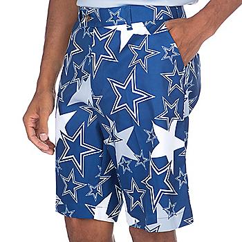 f44221f45 Dallas Cowboys Loudmouth Star Stretch Tech Short