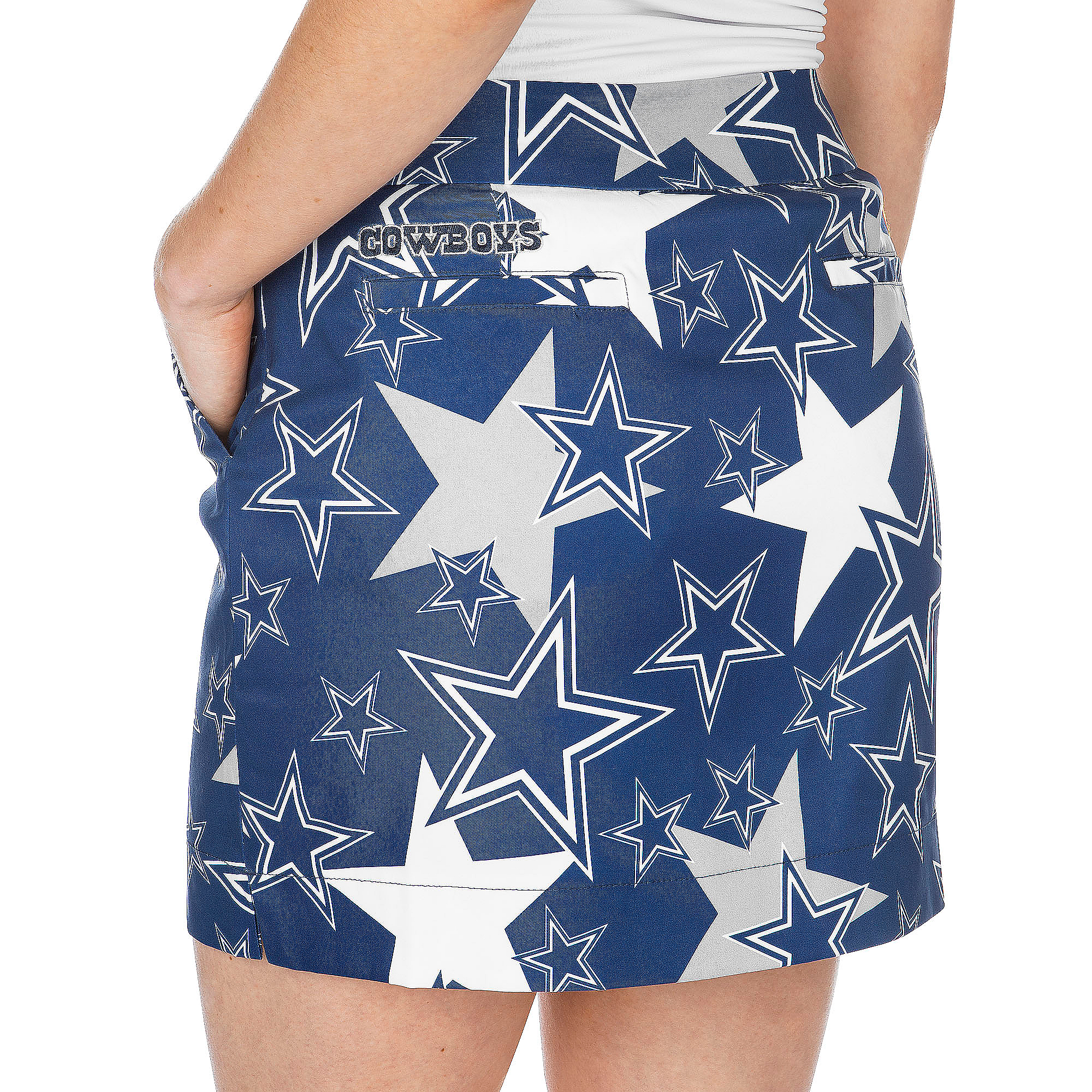 Dallas Cowboys Loudmouth Womens Star Stretch Tech Skirt ... d914bbc85