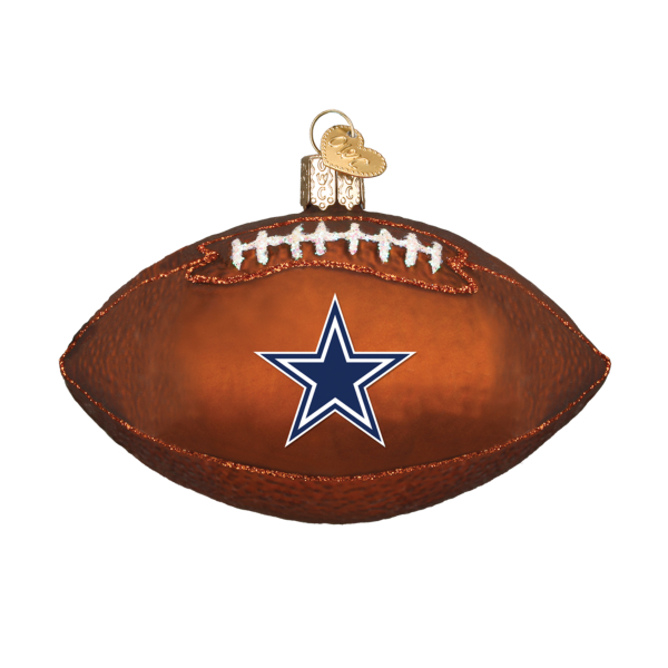 Dallas Cowboys Football Ornament