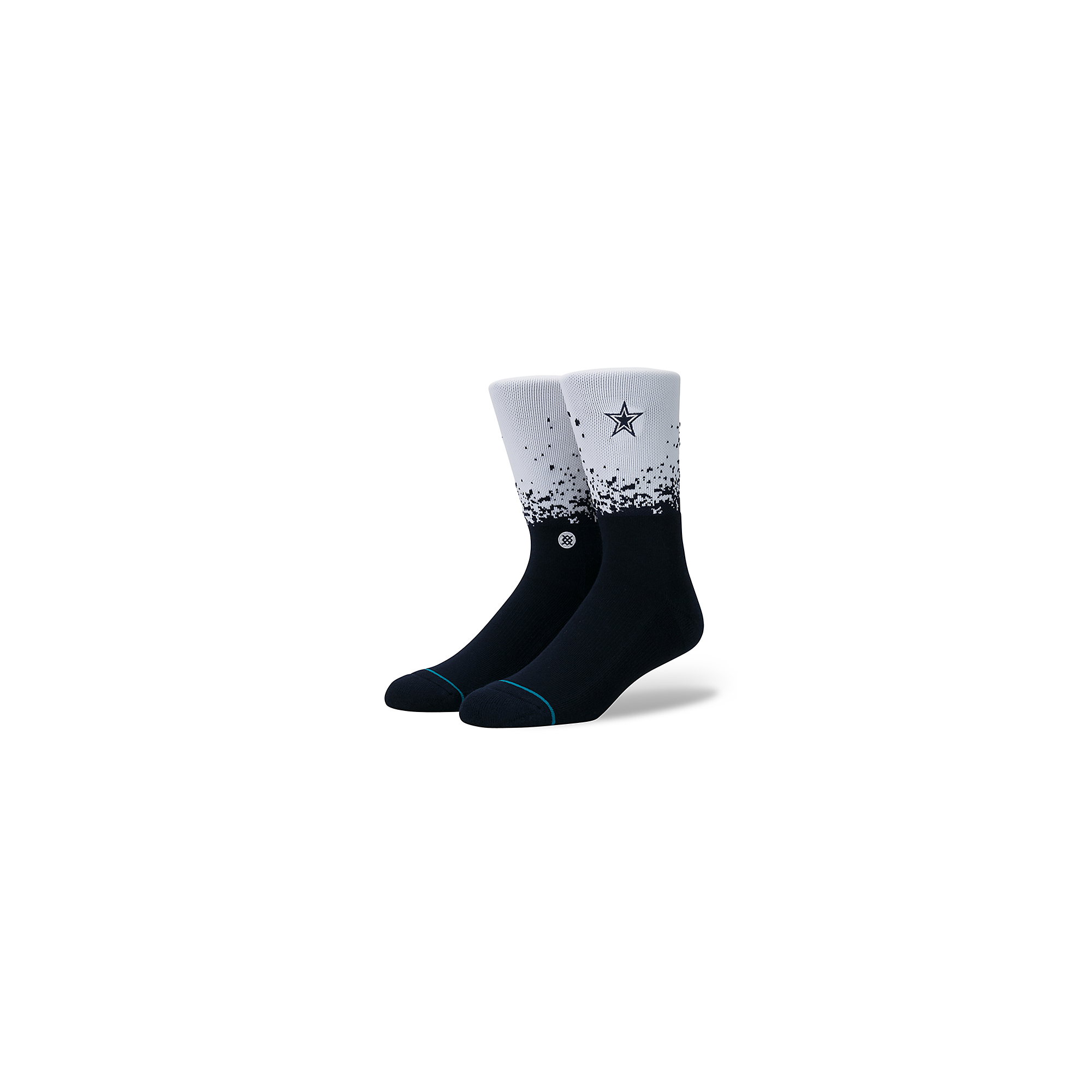 Dallas Cowboys Fade Socks