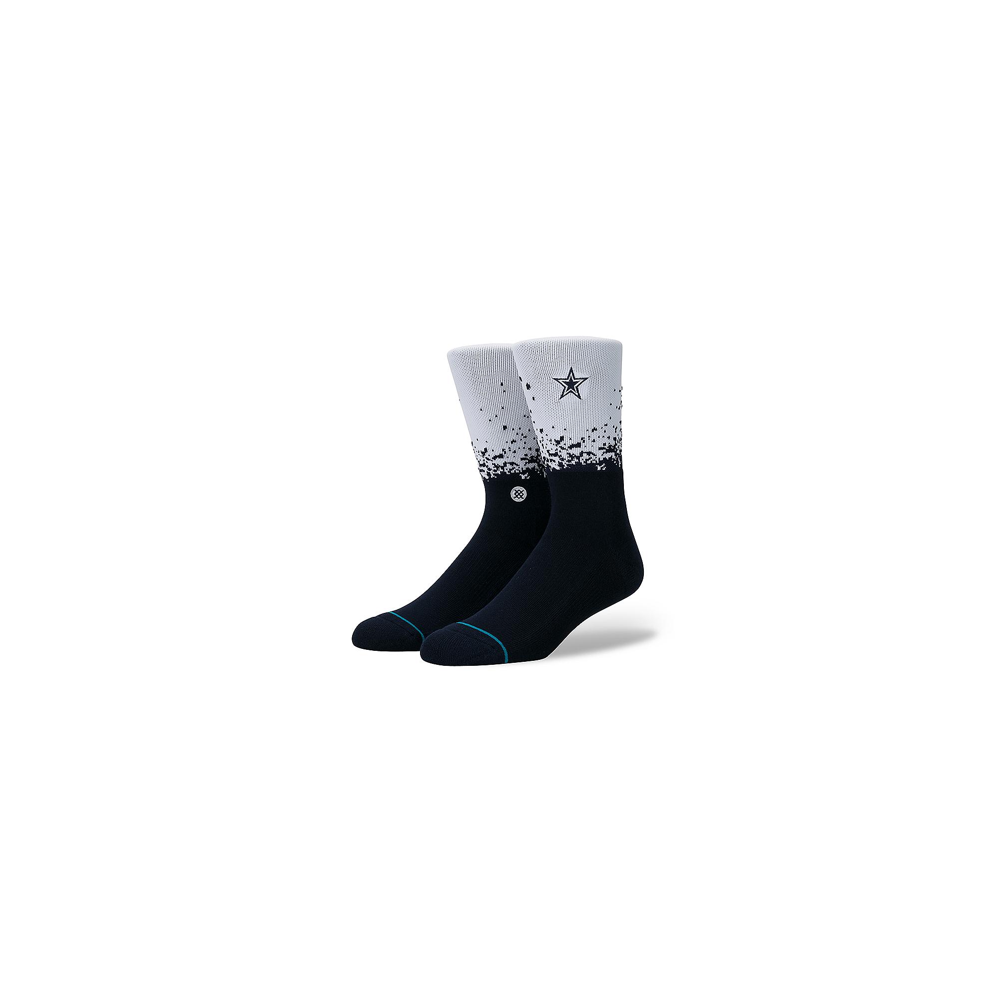 Dallas Cowboys Fade Socks