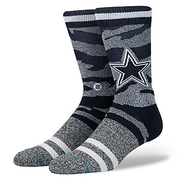 Dallas Cowboys Tigerstripe Socks