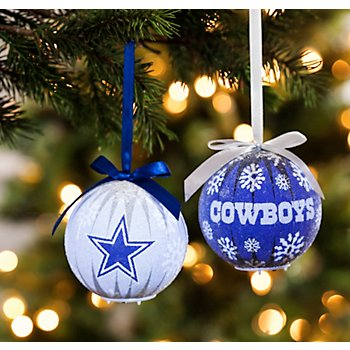 Dallas Cowboys LED Ornament Set