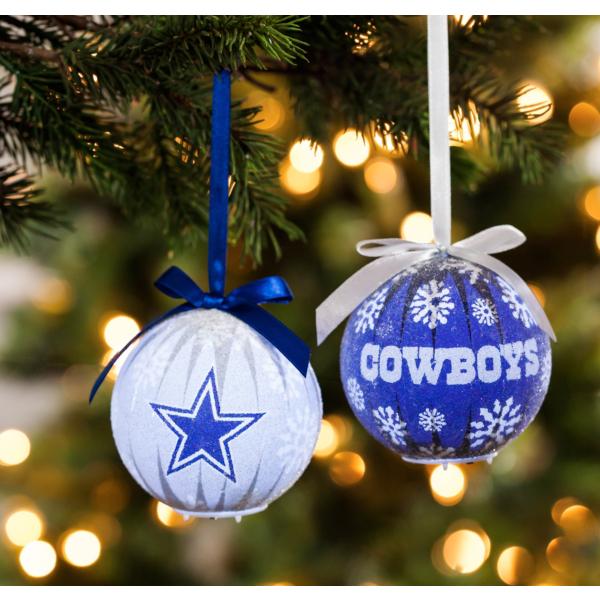 Dallas Cowboys LED Ornament Set